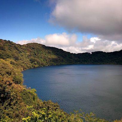 Volcán de Ipala - Vista desde el mirador