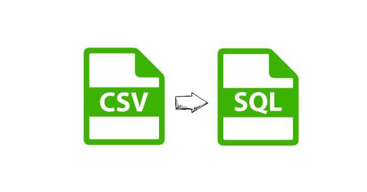 CSV a SQL